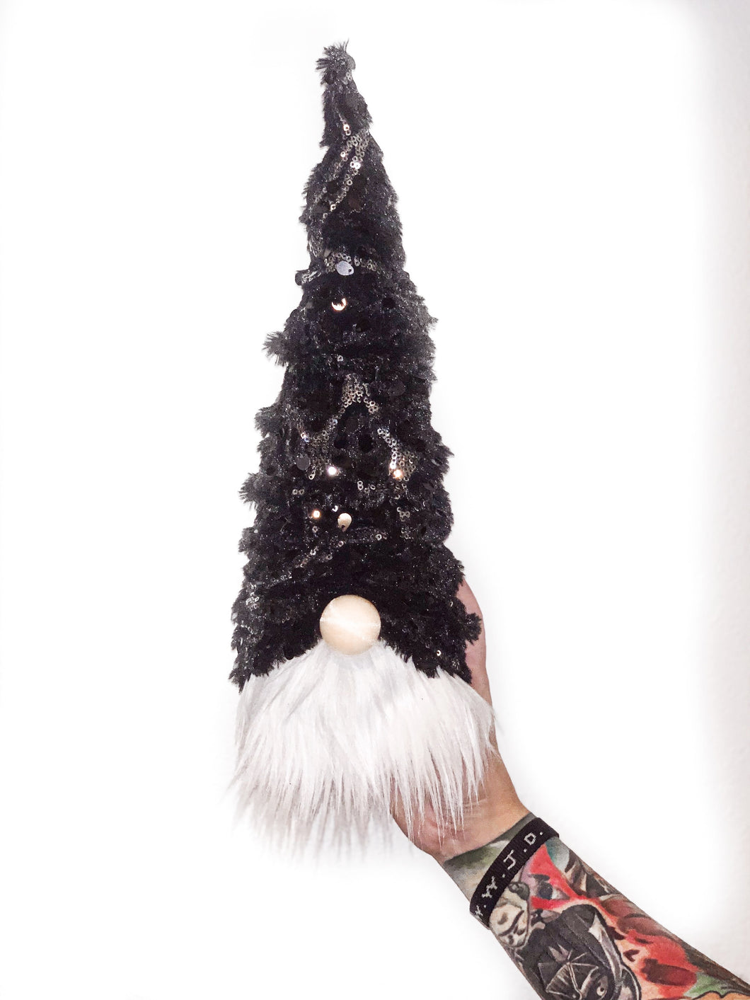 Winter Nights Christmas Tree Gnome