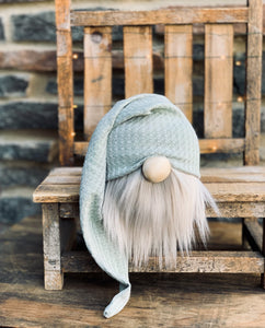 Sea Glass Sage Farmhouse Gnome
