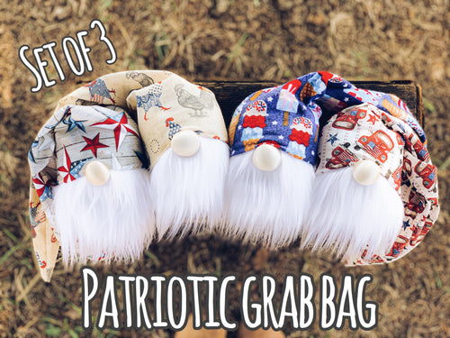 Patriotic Grab Bag (3 gnomes)