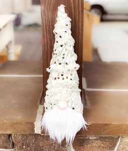 Dreamin' Of A White Christmas Tree Gnome