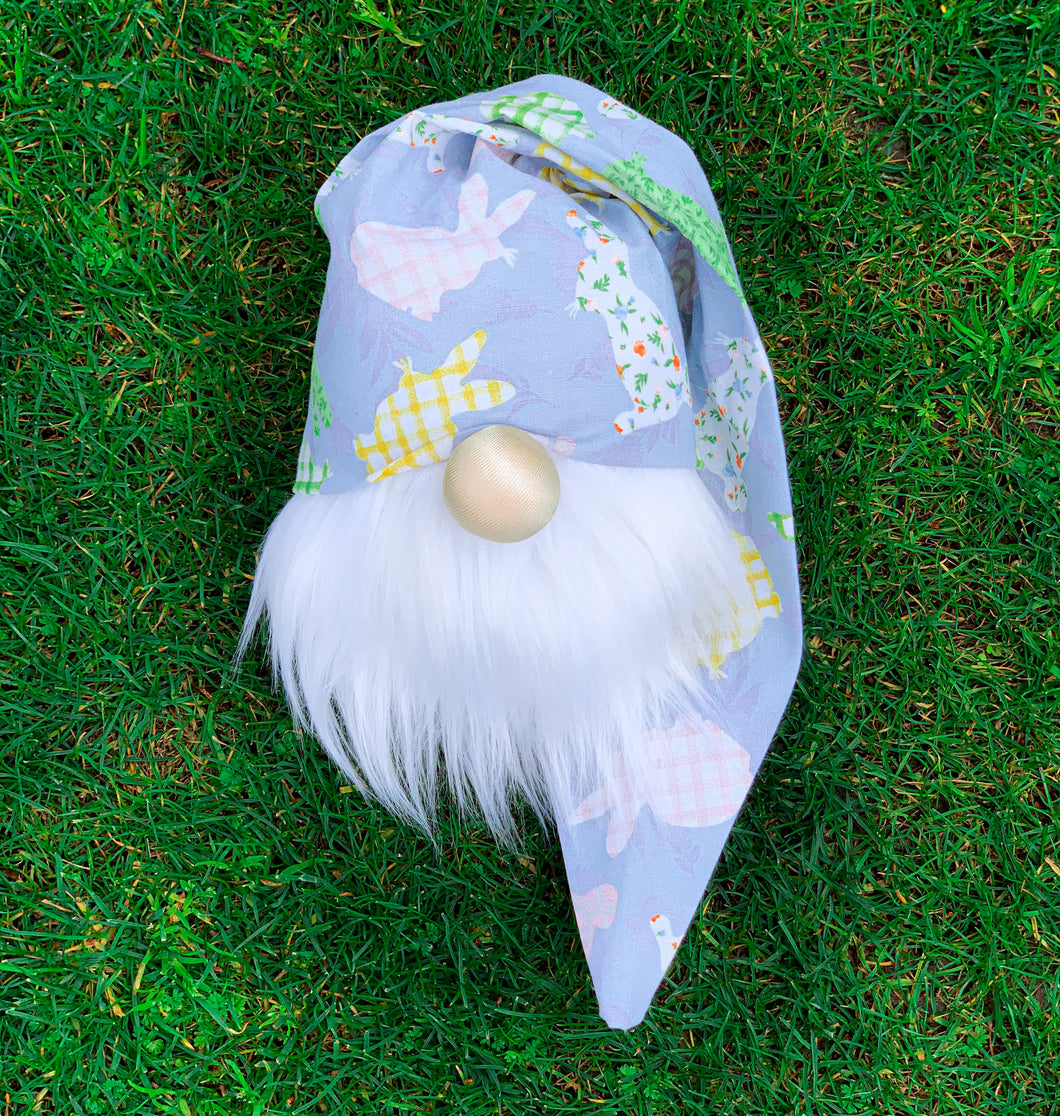 Lavender Jumpin' Bunnies Easter Gnome