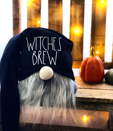 Black Witches Brew Gnome