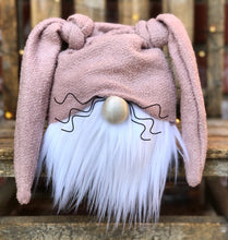 Dusty Rose Bunny Gnome