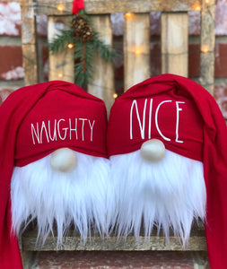 Naughty & Nice Gnomes Set