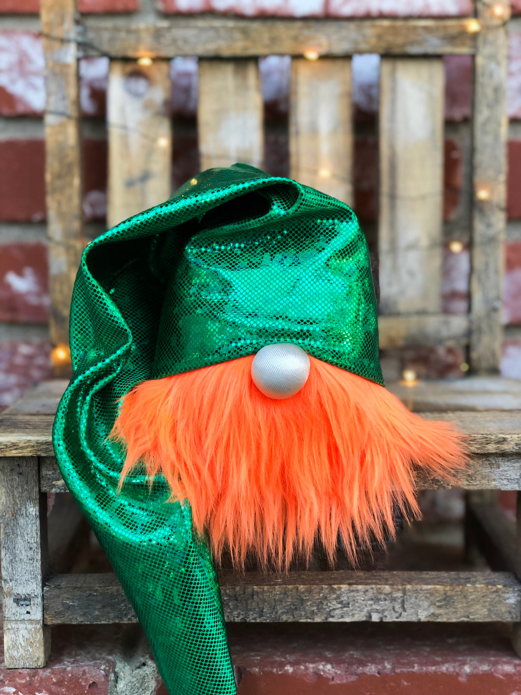 Metallic Leprechaun Gnome