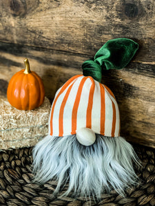 Dreamsicle Pumpkin Gnome
