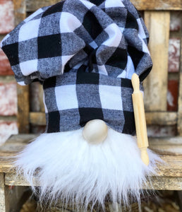Buffalo Plaid Chef (white beard)