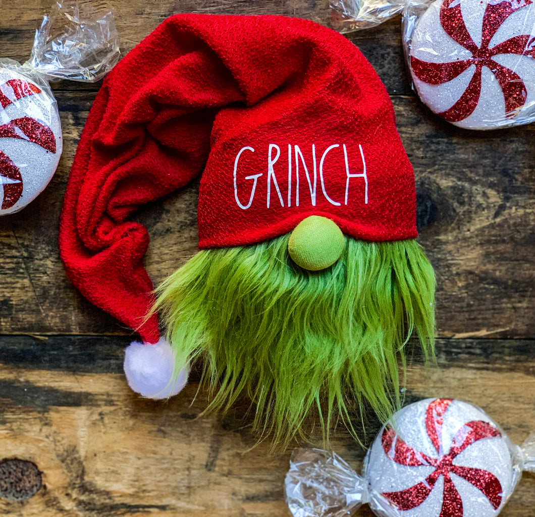 The Grinch Gnome