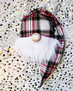 Christmas Tartan Plaid Gnome