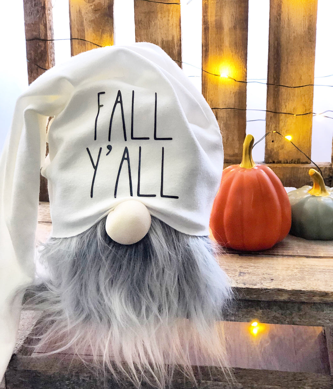 Fall Y'all Word-y Gnome