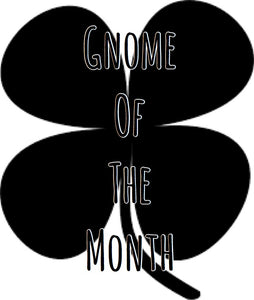 Gnome of the Month: FEBRUARY