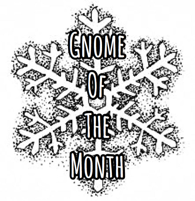 Gnome of the Month: NOVEMBER