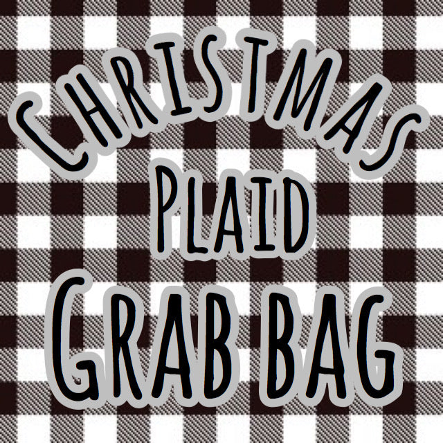 Christmas Plaid Grab Bag