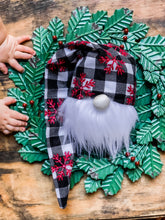 Buffalo Plaid Snowflake Christmas Gnome