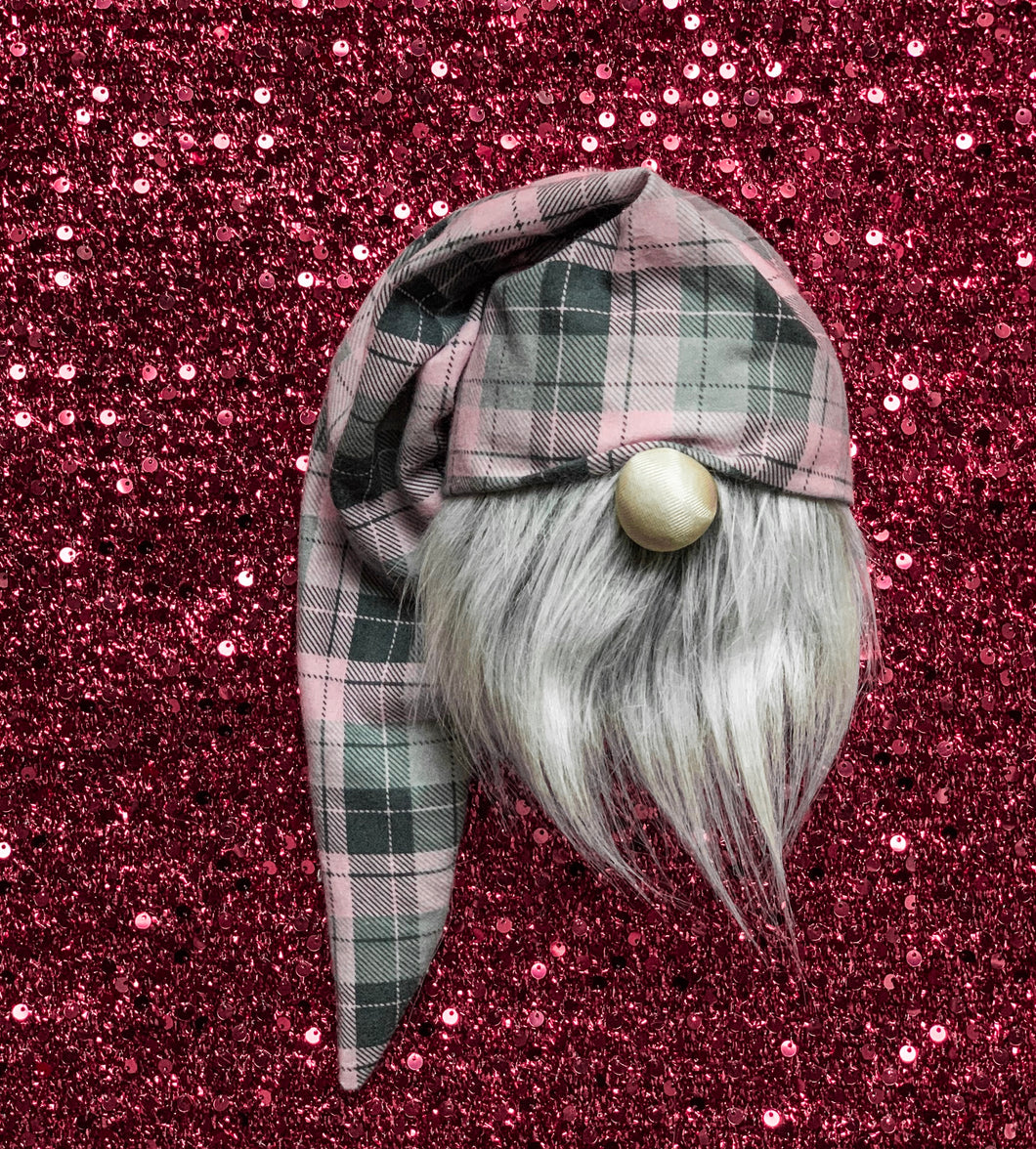 Sweetie Pie Plaid Valentine's Gnome