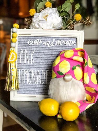 Pink Lemonade Gnome