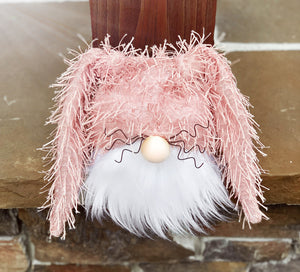 Pink Sprinkles Bunny Gnome
