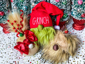 Grinch, Cindy & Max Gnome Family