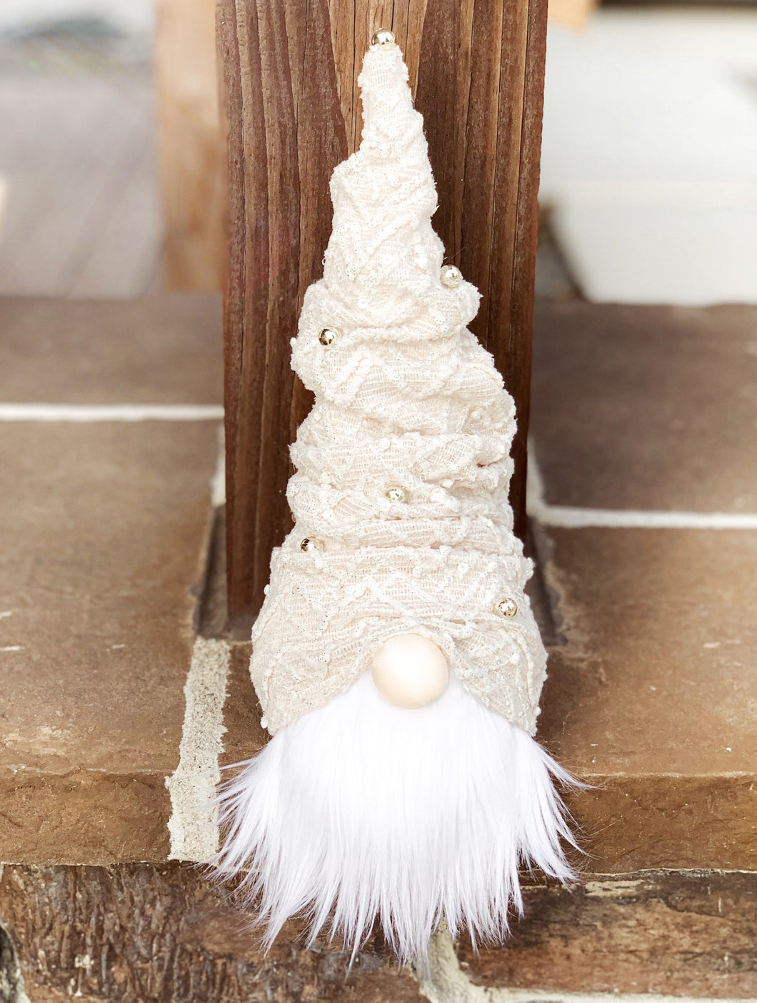 Silver Bells Christmas Tree Gnome