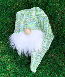 Green & Blue Easter Basket Gnome