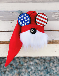 Mr Patriotic Mouse Gnome