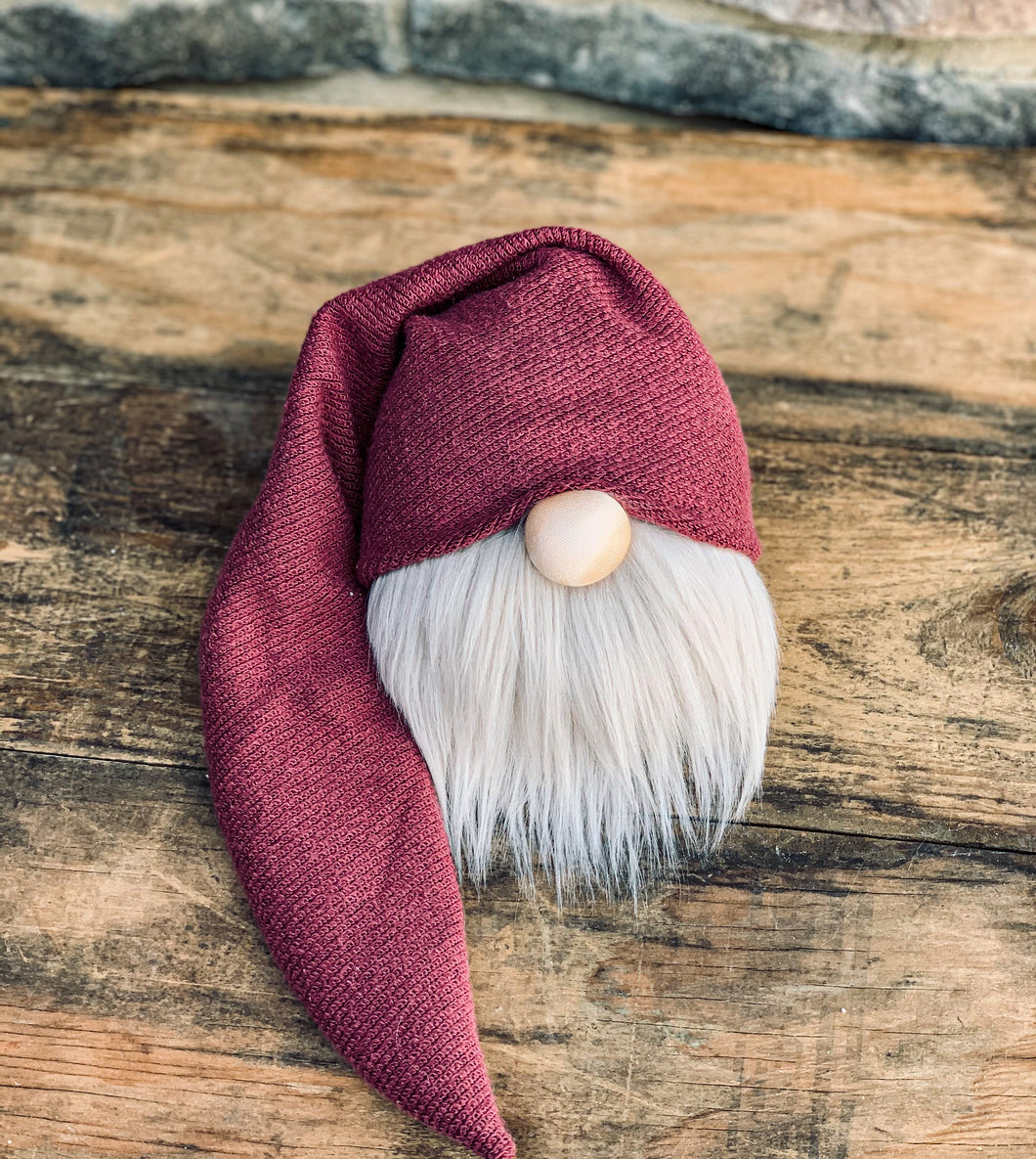 Raspberry Cobbler Farmhouse Gnome