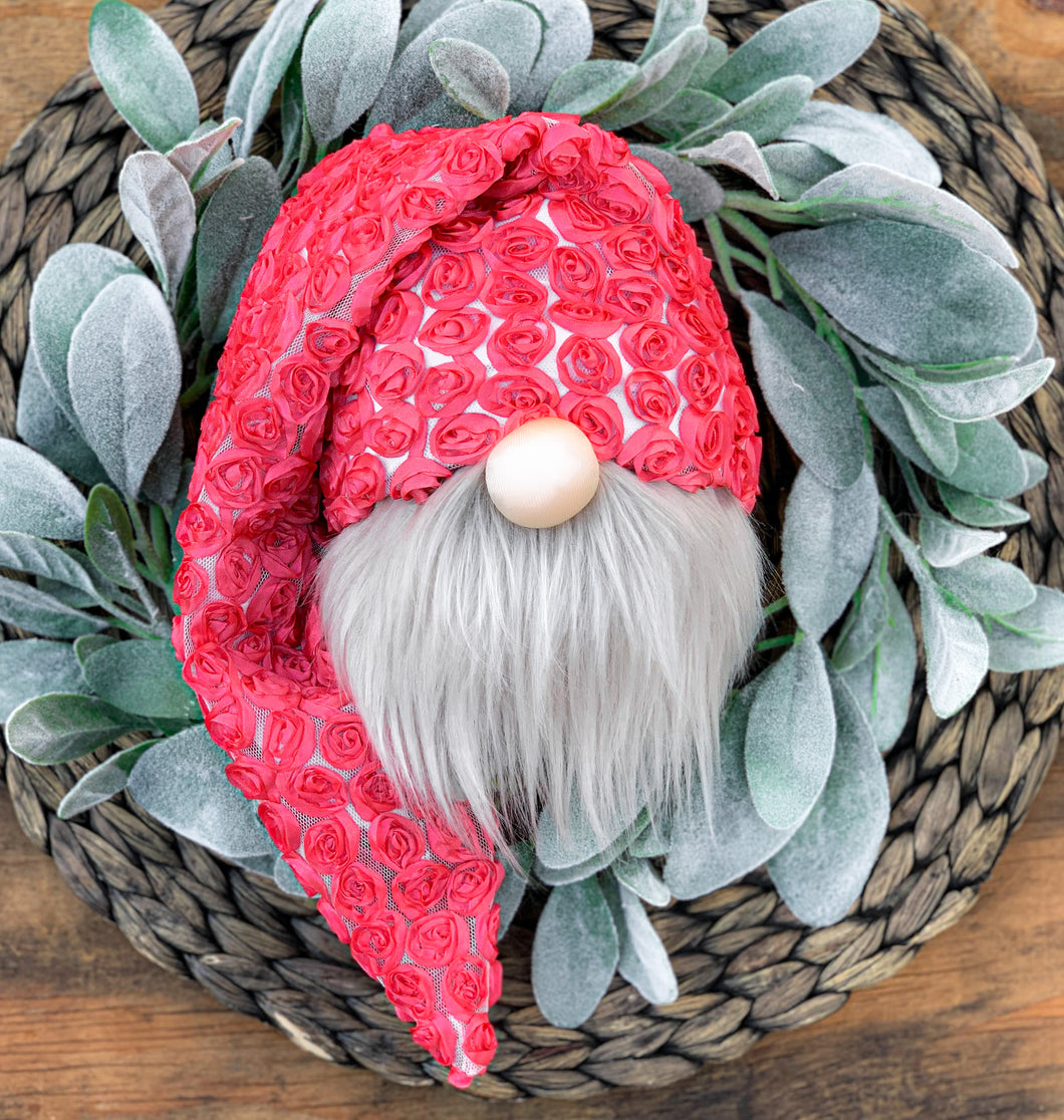 Punch Rosette Floral Gnome