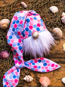 Pink Mermaid Gnome