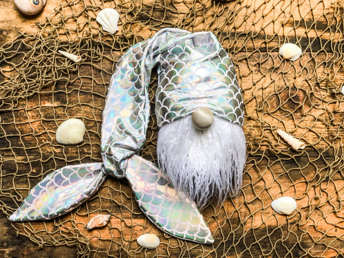 The Opal Mermaid Gnome