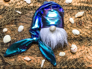 The Amethyst Mermaid Gnome