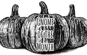 Gnome Of The Month: JULY