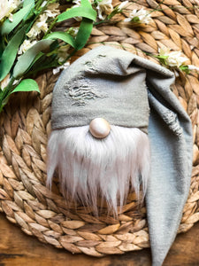 Antique Sage Farmhouse Gnome