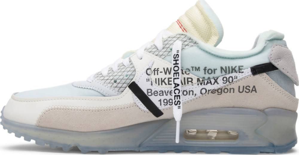 THE 10 AIR MAX 90 OFF WHITE