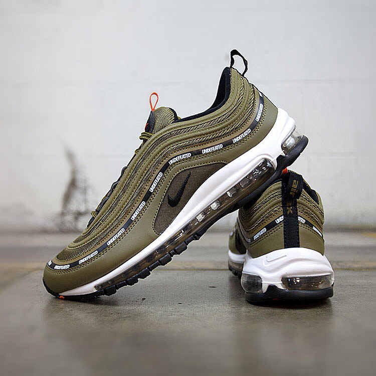 best service efb22 a6c3a AIR MAX 97 OG UNDEFEATED OLIVE