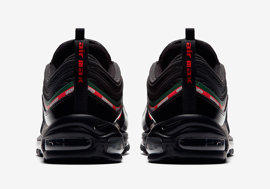 undefeated nike air max 97 black