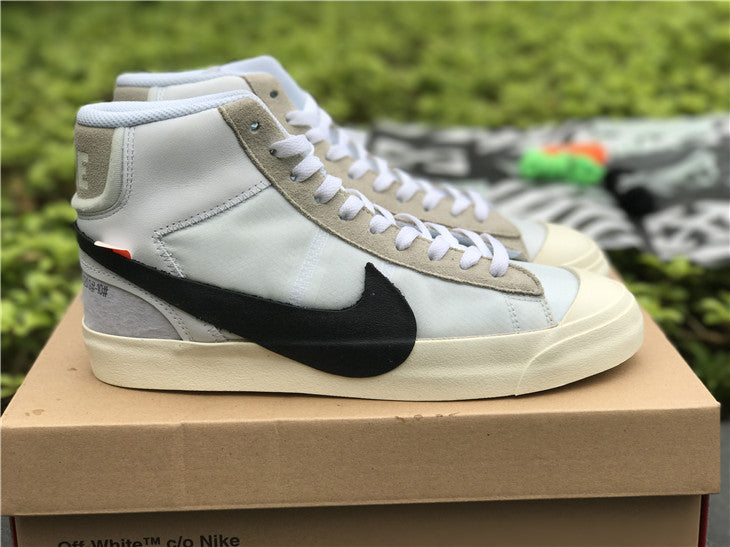 0cdd6c29d3bf THE 10- NIKE BLAZER MID OFF-WHITE – FIT in Sneakers