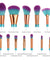 DRQ 12pcs Makeup Brush Set With pouch