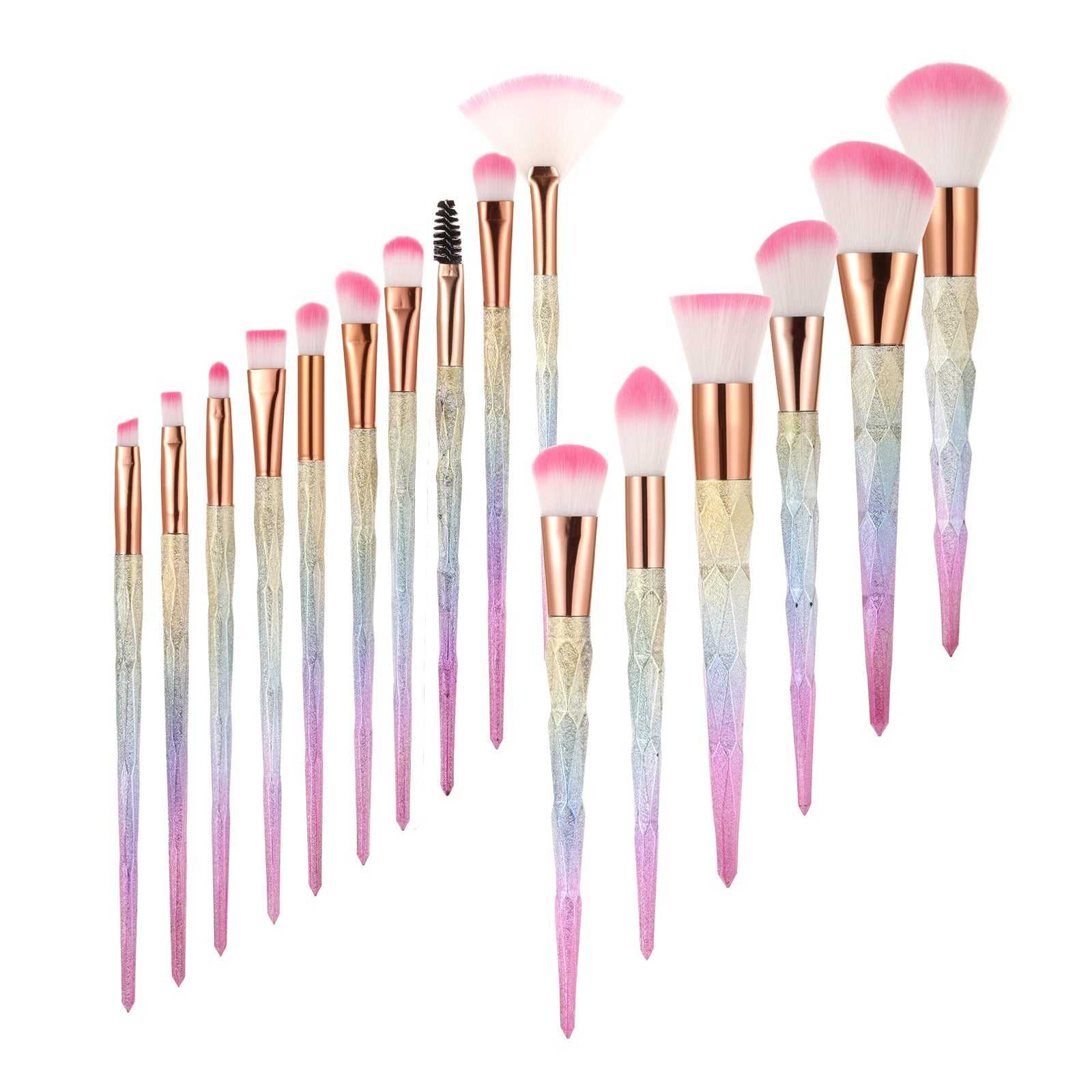 Makeup Brush Set -16 Piece