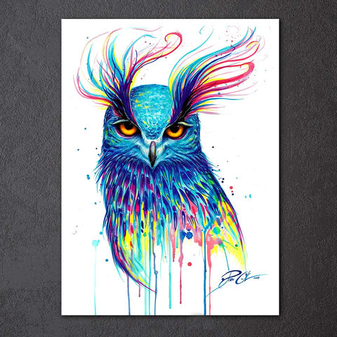 Eagle by Pixie Cold Art 1 Piece Canvas