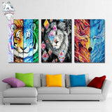 Blacklion by Scandy Girl 1 Piece Canvas