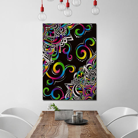 DoodleMagic By Brizbazaar 1 Piece Canvas
