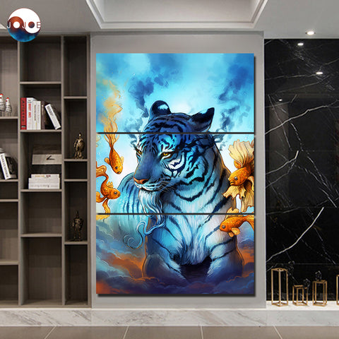 Dream by JoJoesArt 3 Piece Canvas