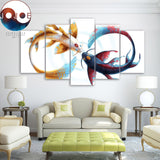 Eternal Bond by JoJoesArt 5 Piece Canvas