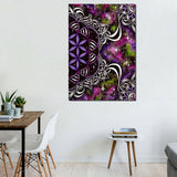 Flower of Life By Brizbazaar 1 Piece Canvas