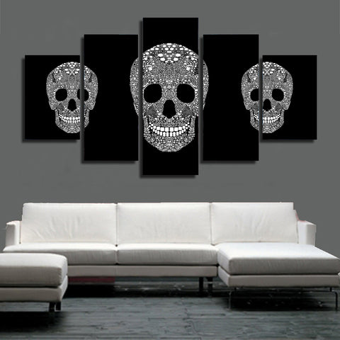 Skulls Candy 5 Piece Canvas