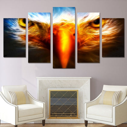 Eagle 5 Piece Canvas