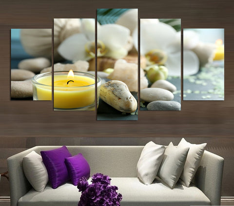 Life Wellness 5 Piece Canvas