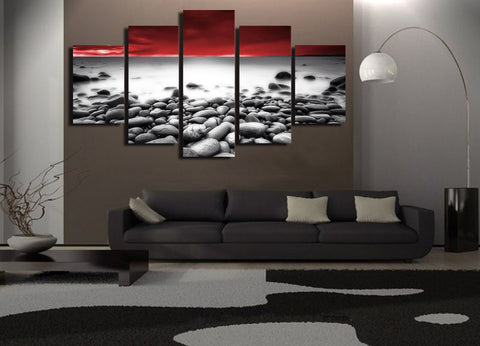 Natural Wonderful Sight 5 Piece Canvas