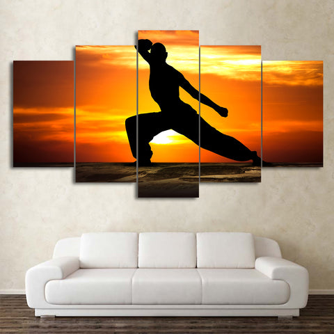 Martial Arts 5 Piece Canvas
