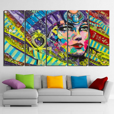 Ancient Egypt 5 Piece Canvas